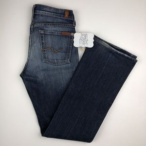 7 For All Mankind Boot Cut Jeans 26x29